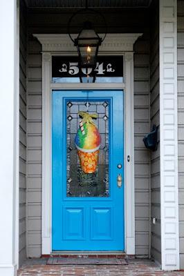 How it looks on a door!