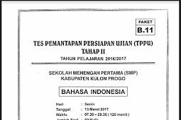 Soal TPPU Kulon Progo 2017 Tahap 2 - BAHASA INDONESIA