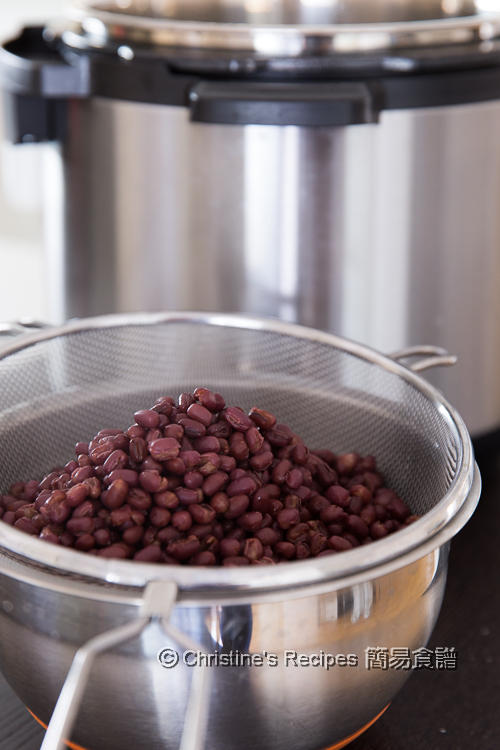 Sweetened Red Bean Instant Pot03