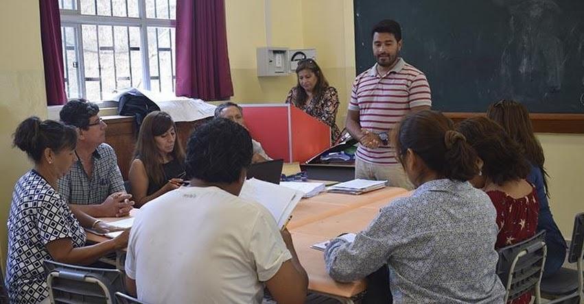 DRELM capacita a Equipo Pedagógico Territorial que atenderá a las escuelas de Lima Metropolitana - www.drelm.gob.pe