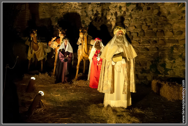 Reyes Magos Belén Viviente Buitrago de Lozoya