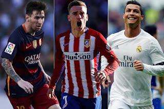 Christiano Ronaldo Lionel Messi UEFA best player award 2016