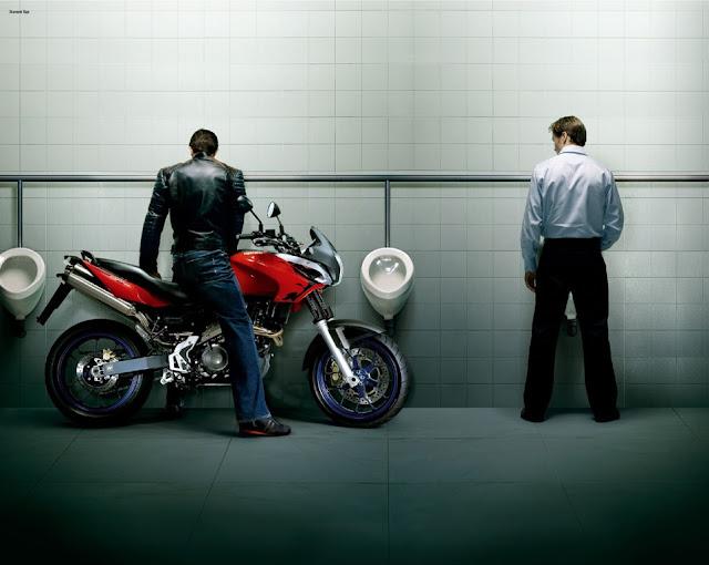 motorcycle advertising
