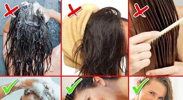 Как правильно мыть волосы, чтобы сохранить их здоровыми