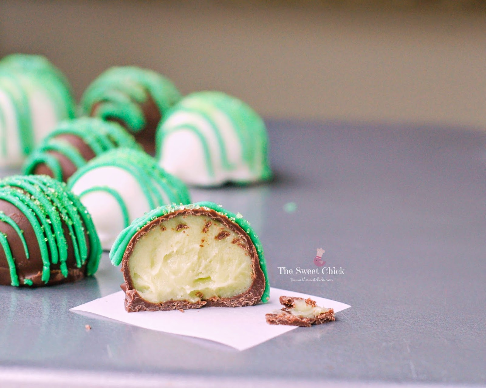 Tequila Lime Oreo Truffle by The Sweet Chick