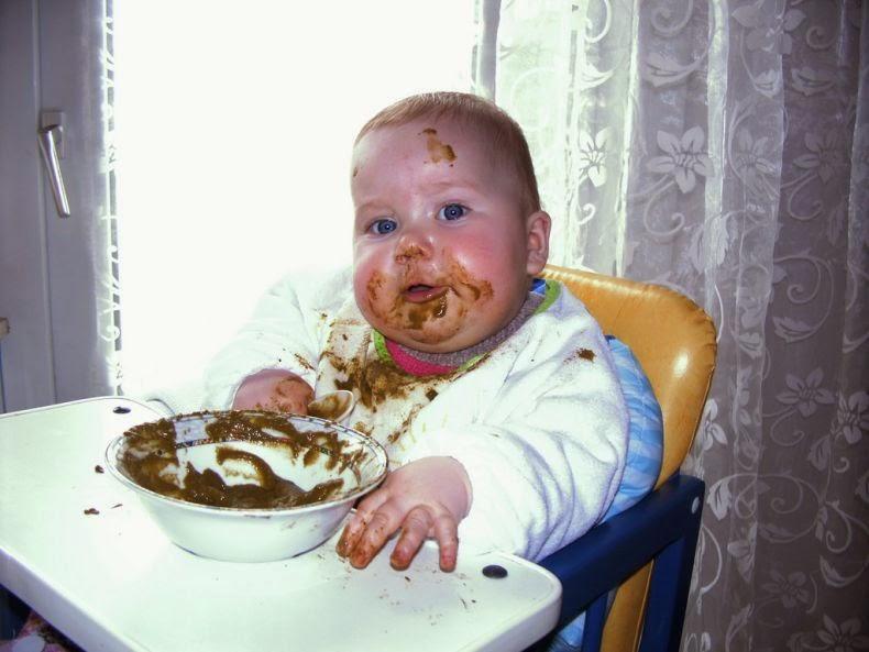 Lucu Bayi Makan Ktawa Ayo Ketawa