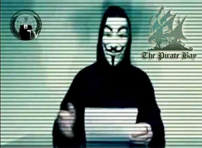 أنونيموس تحذر من إستعمال The Pirate Bay