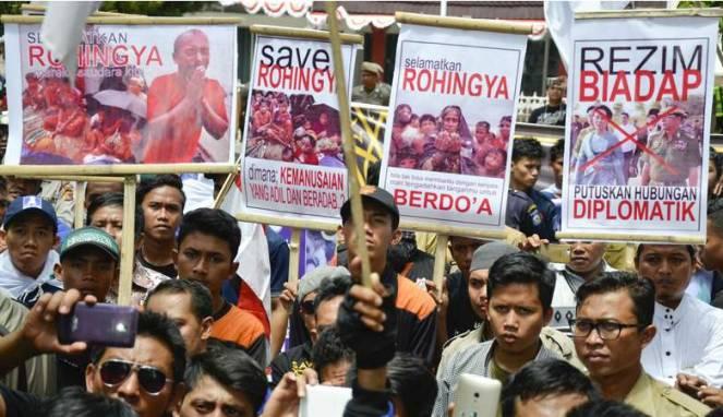 Polisi Buru Penyebar Foto Hoaks Rohingya