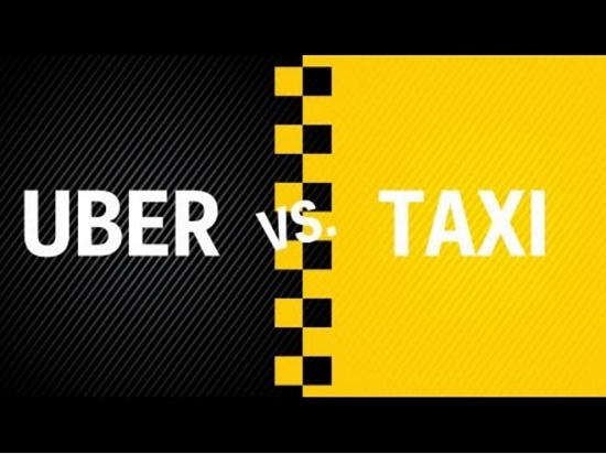 uber vs taxi, uber, taxi