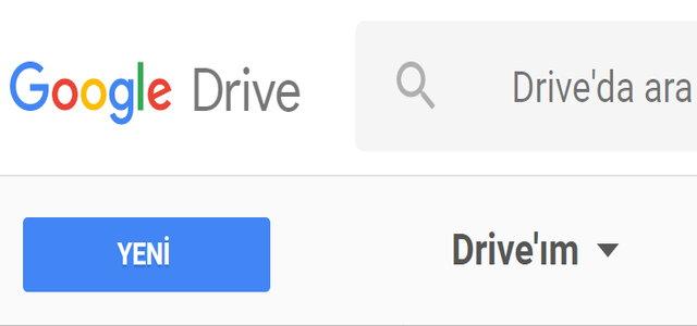 Google Drive Dokümanları (Word) Açmak İçin