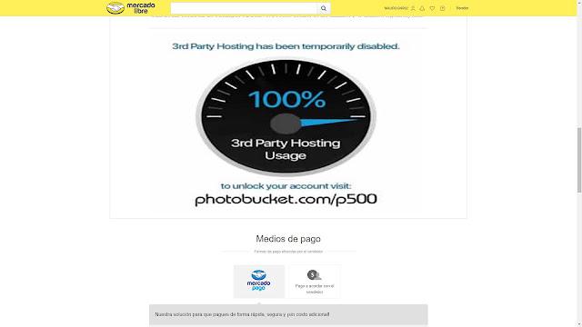 Photobucket mercadolibre