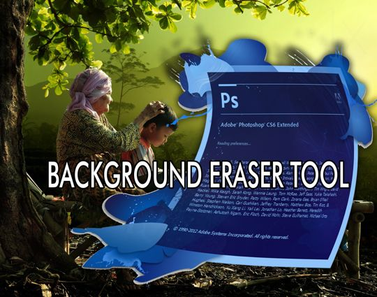Background Eraser Tool Photoshop