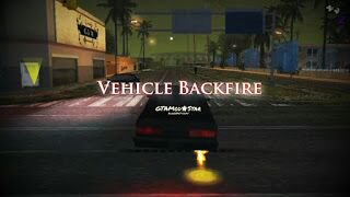 Vehicle Backfire | Fire Nitrous Mod Android
