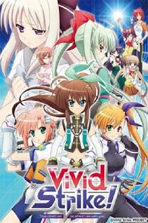 Detail dan nonton trailer anime ViVid Strike! (2016)