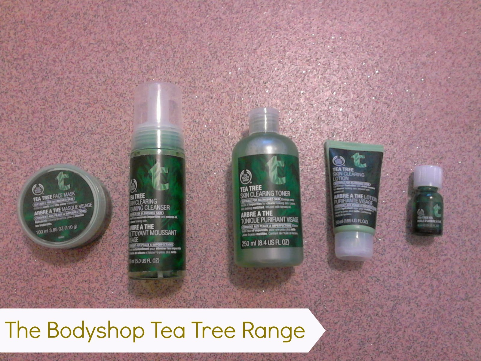 The Body Shop Tea Tree Range