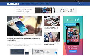 Flexmag Blogger Template