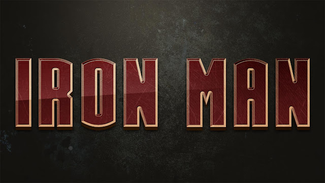 How to create Beautiful Iron Man Text Effect in Photoshop