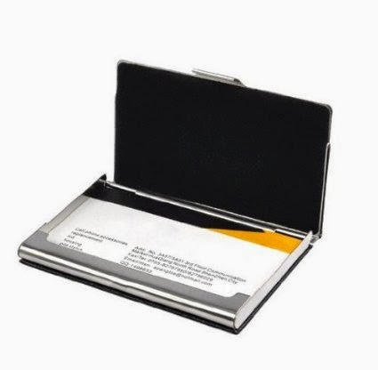 Business card holder business card holder for men metal frame case organizer amico business card holder reheart Gallery