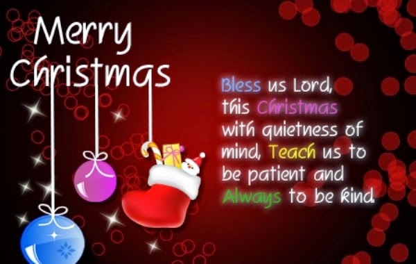 Merry Christmas Sayings And Greetings For Cards