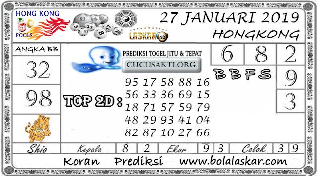 Prediksi Togel HONGKONG LASKAR4D 27 JANUARI 2019