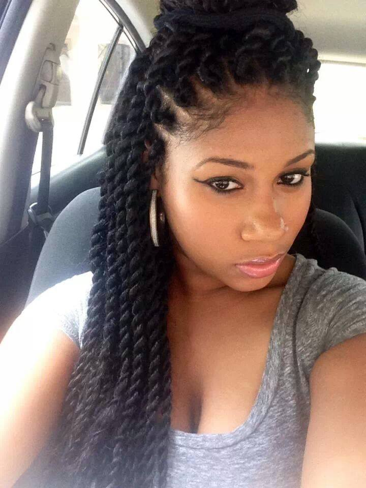Twist Hairstyles For Medium Length Natural Hair