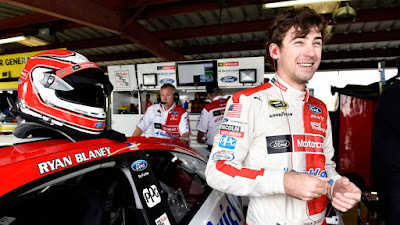 Blaney Might Not Be The Biggest Name In The Rookie Class, But That Isn't Slowing Him Down One Bit. #nascar