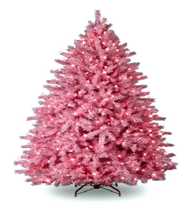 Pink Artificial Christmas Trees: Mommy Bags.....: WTF Friday...Christmas Edition.....Yes