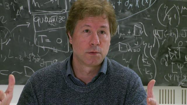 Físico Holandês, Eric Verlinde, de 48 anos
