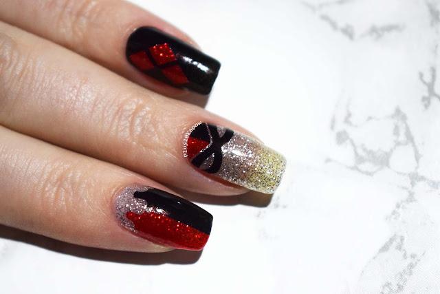 Espionage Cosmetics Harlequin Harley Quinn nerdy nail wraps