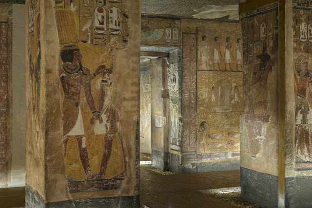'Scanning Seti: The Regeneration of a Pharaonic Tomb' at the Antikenmuseum Basel, Switzerland
