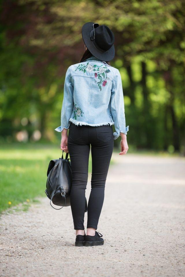 styl boho hafty blogerka kapelusz