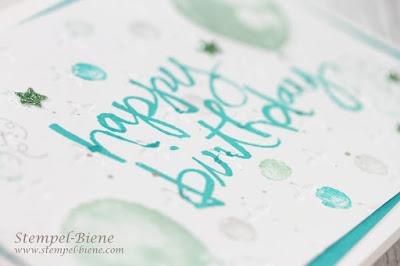Stampinup Funkelsterne; Geburtstagskarte Mann; Watercolorwords; stempel-biene; Stampinup Workshops; Stampinup Recklinghausen; Stampinup Rabatt; Stampinup Jahreskatalog 2018