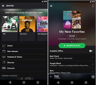 Spotify for Android is a great app that will download all music from the online library d Spotify Music Premium v8.4.25.771 Apk [Final/Latest] Full Mod