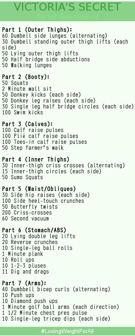 Best Full Body Workout