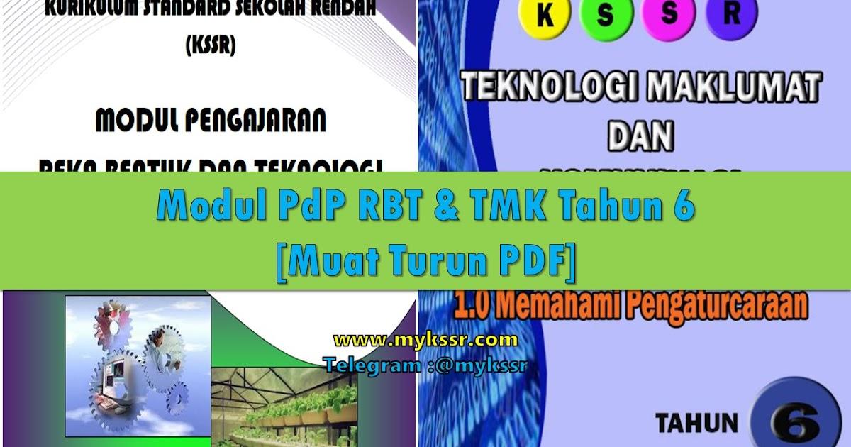 Modul Pdp Rbt Tmk Tahun 6 Muat Turun Pdf Mykssr Com