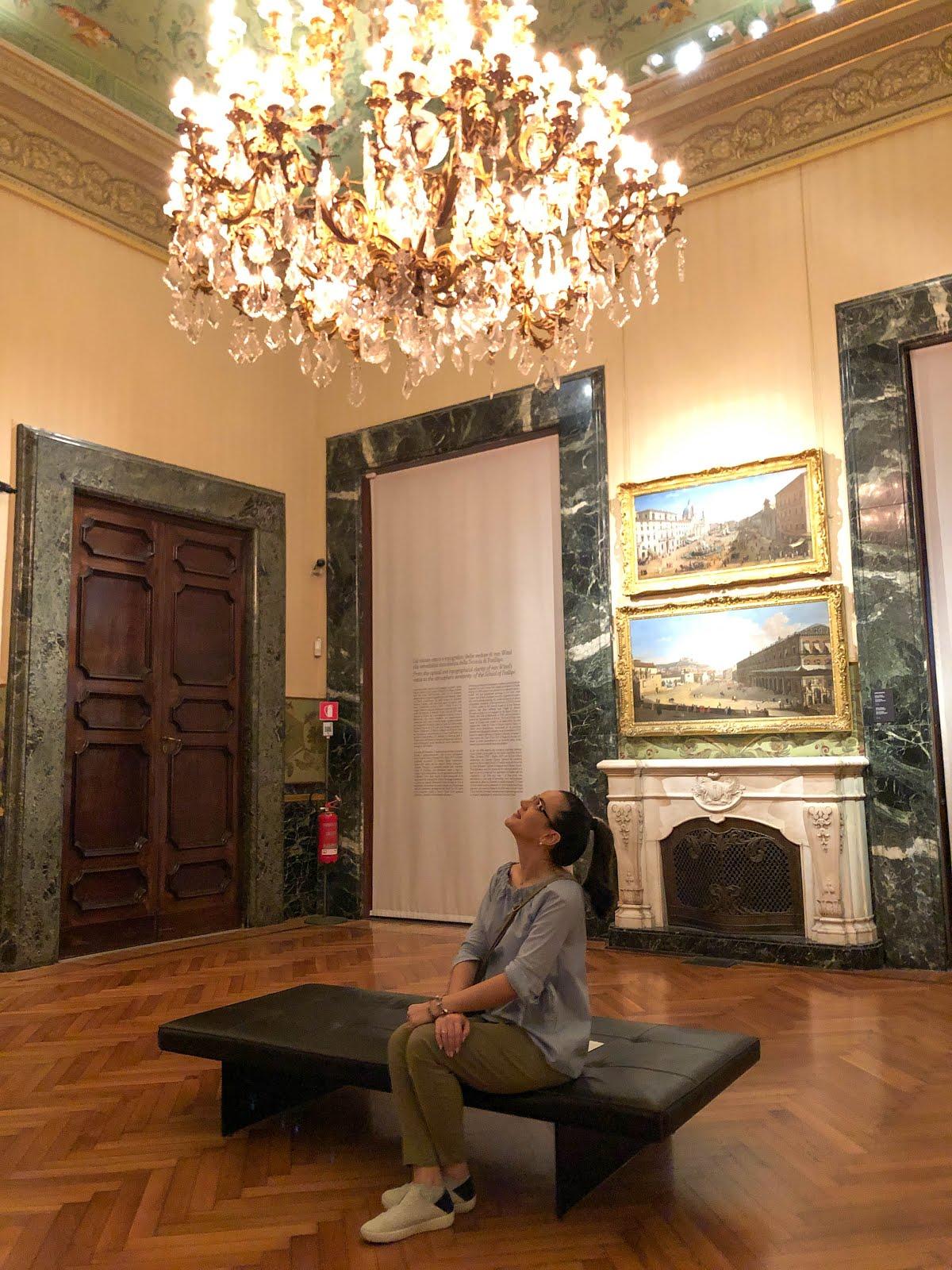 palazzo Zevallos Stigliano travel blogger