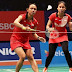 Badminton Asia Championships 2019 Jadwal Ganda Putri Babak 2