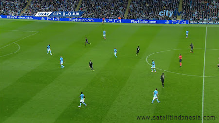 feed asiasat 5 Frekuensi Manchester City TV