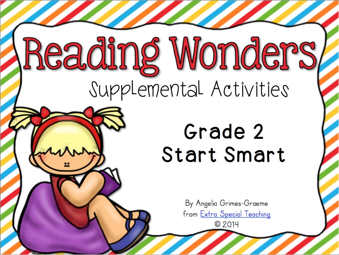 Extra Special Teaching: Reading Wonders Curriculum in my