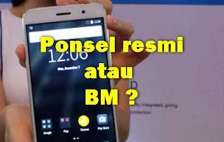 ponsel BM atau resmi postel ?