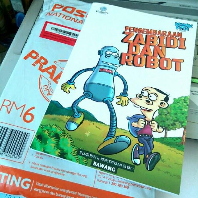 Kartunis Bawang : Pengembaraan Zabidi dan Robot