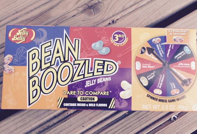 Bean Boozled laatikko