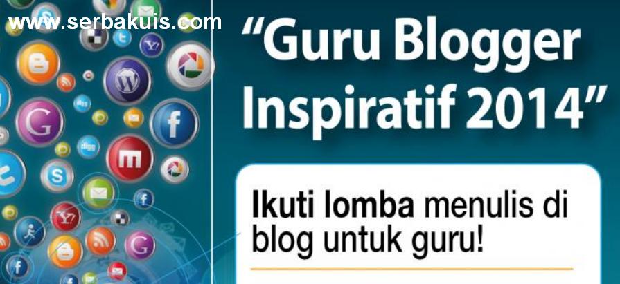 Kontes Blog Guru Blogger Inspiratif 2014 Hadiah Total 6 Juta