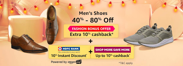 Men's Shoes 40% to 80% off