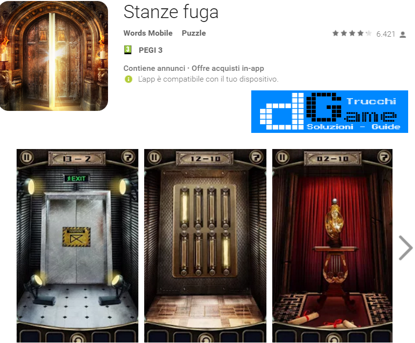 Soluzioni  Stanze Fuga (Escape the Doors) di tutti i livelli | Walkthrough guide