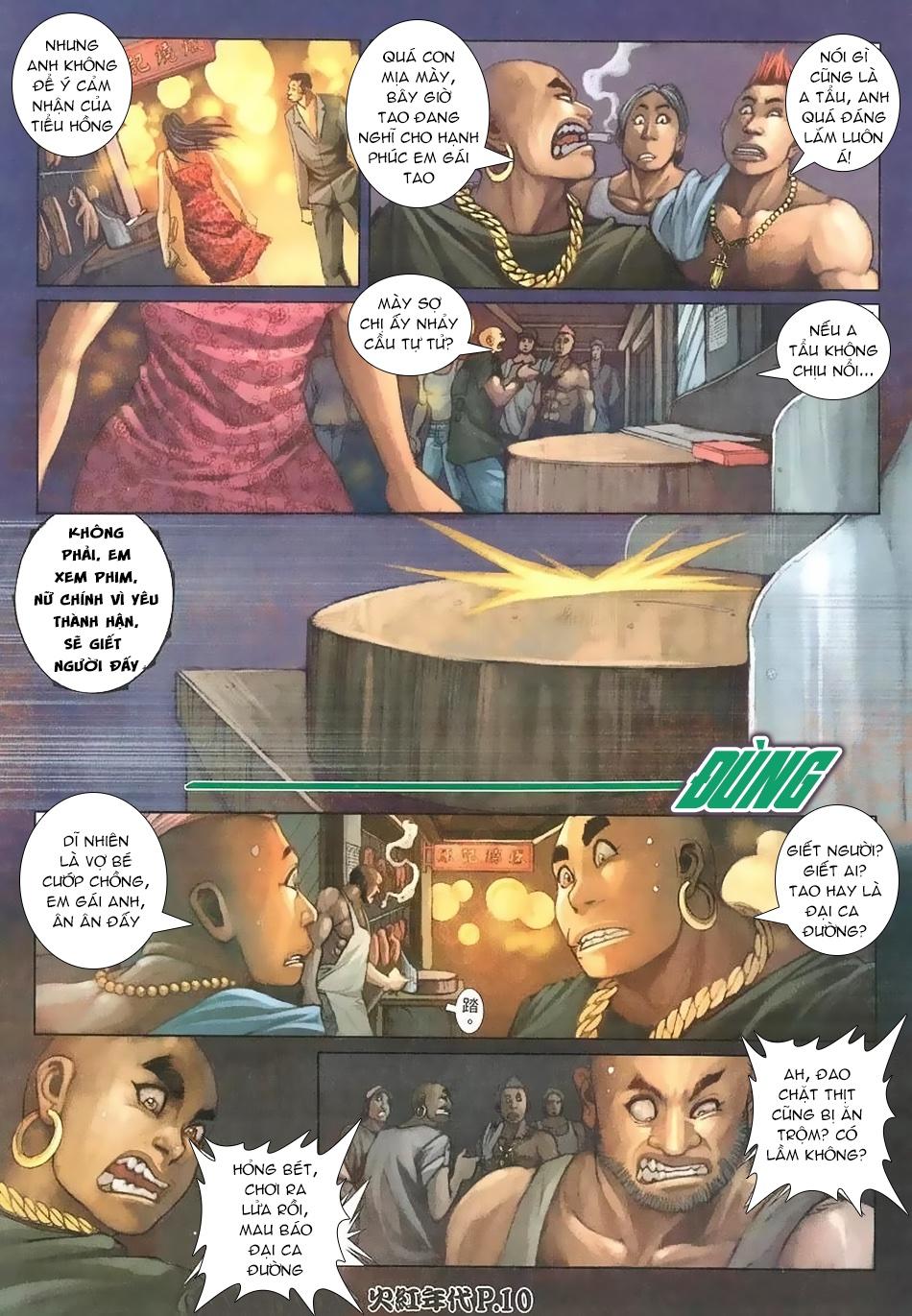 Hỏa Hồng Niên Đại Hắc Cốt Đường chap 112 - Trang 8