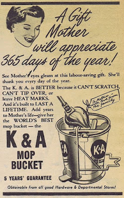 K & A Mop Bucket - A gift Mother will appreciate 365 days a year!