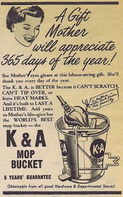 K & A Mop Bucket - A gift Mother will appreciate 365 days a year!