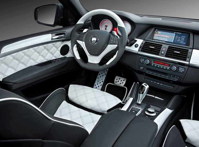 2013 Bmw X6m Interior Dashboard Picture Courtesy Of Alex L