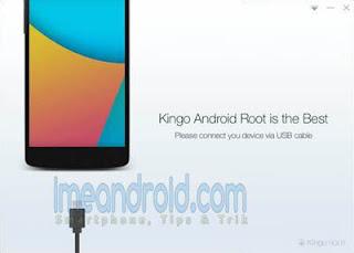 cara root hp via kingoroot pc